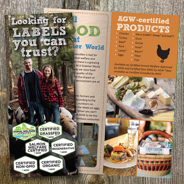 Shop AGW's USA Consumer Brochures