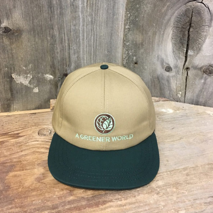 A Greener World Embroidered Baseball Cap