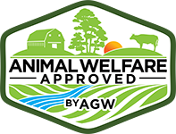 Certified Animal Welfare Approved by AGW