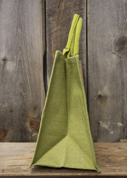 Jute Tote Bag (Green)