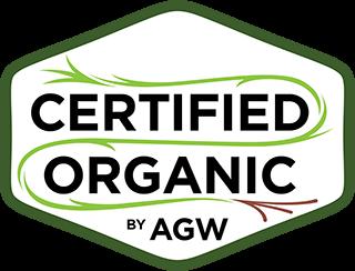 Certified Organic by AGW