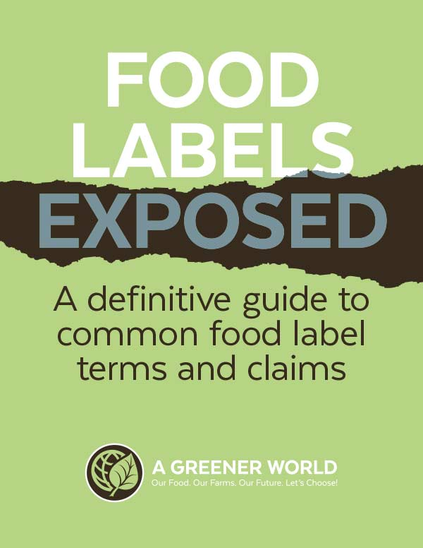 Food Labels Exposed publication