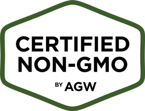 Certified Non-GMO by AGW logo