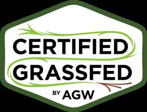 Certified Grassfed by AGW logo