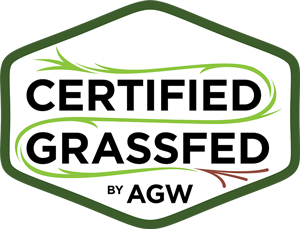 Certified Grassfed by AGW logo