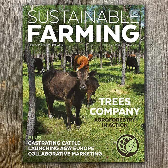 Shop AGW's Sustainable Farming magazine V3 I3 Fall 2018