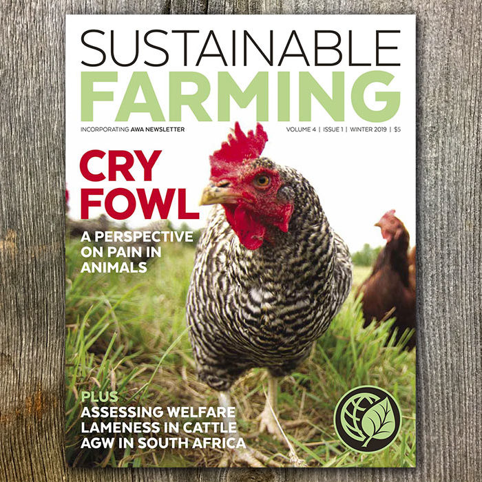 Sustainable Farming Magazine (Winter 2019) (Fall 2018 Sold In Packs Of Five)