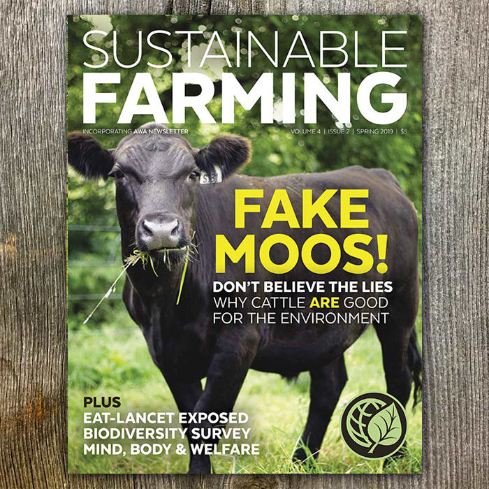 Sustainable Farming Magazine (Spring 2019 Sold In Packs Of Five)