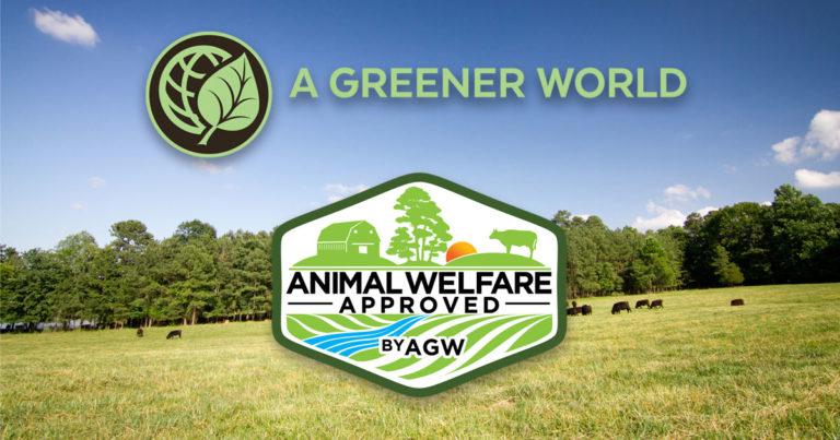 Certified Animal Welfare Approved by AGW logo
