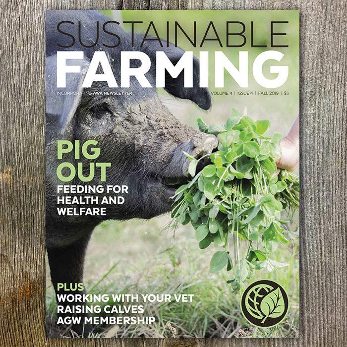 Shop the Sustainable Farming magazine V4 I4 Fall 2019