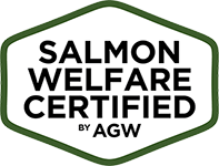 Salmon Welfare Certified by AGW