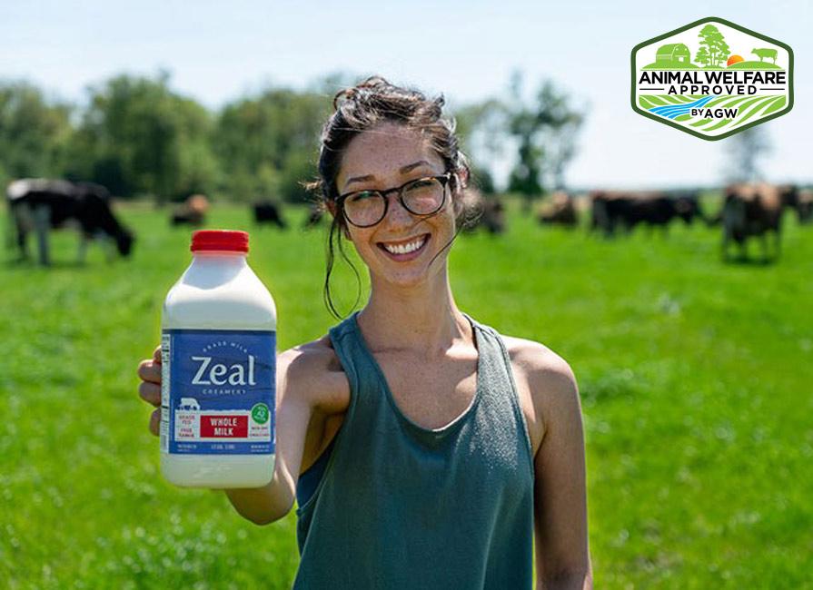 Free Range Dairies In Monette, MO. Zeal Grass Milk