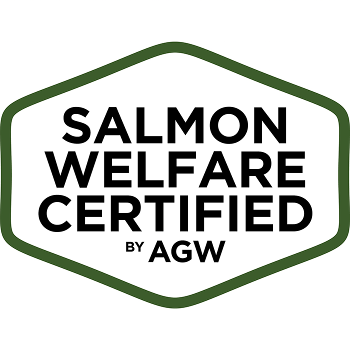 Salmon Welfare Certified by AGW Logo