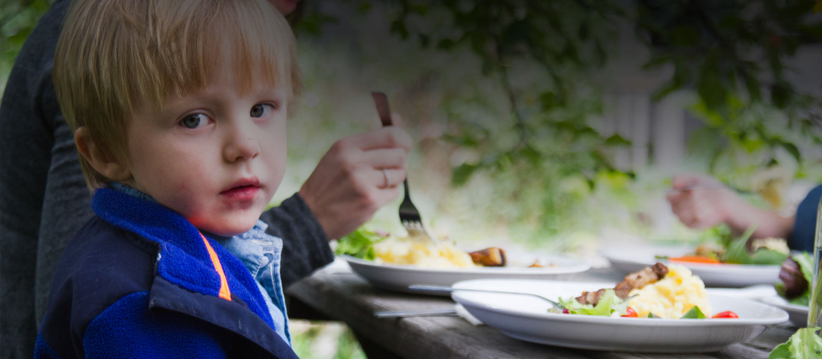 Feed families in need home page image.