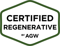 Certified Regenerative by AGW logo