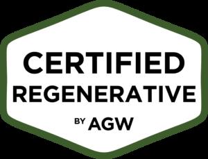 Certified Regenerative by AGW