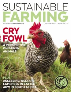 Winter 2019 Sustainable Farming magazine
