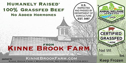 Kinne Brook Farm food label